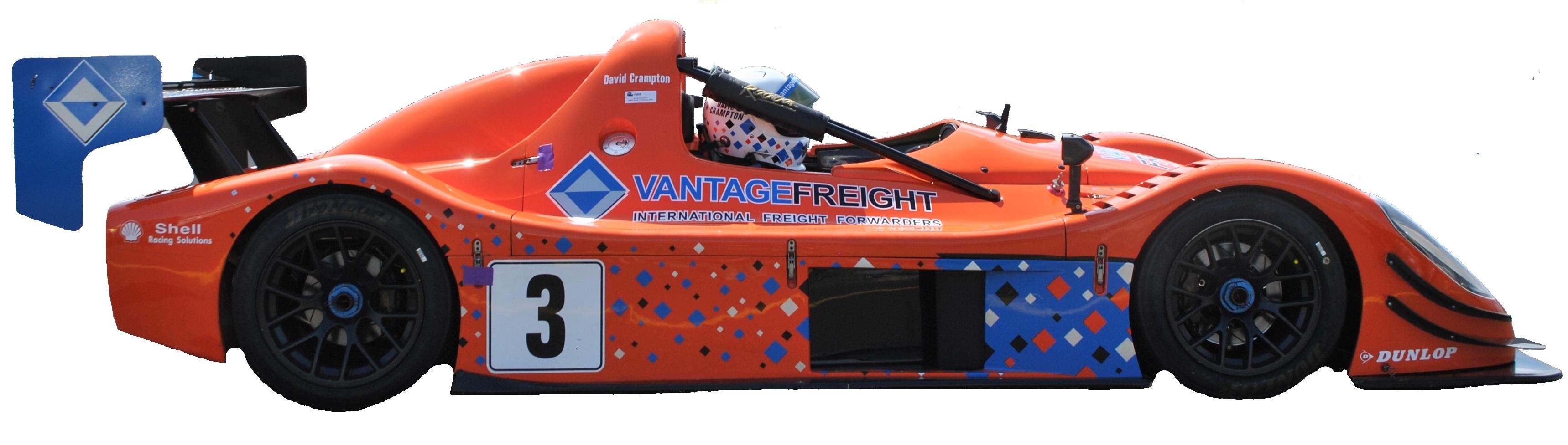 Vantage Racing Radical Car Vantage Freight
